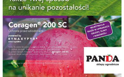 Wybierz Coragen 200SC do zwalczania zwójek i owocówki.